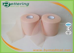 Skin Colour 7cmX27m Sports Underwrap Foam Tape Polyester