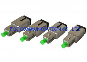 China SC / APC Male to Female Fiber Optic Attenuator Compact High Precision on sale