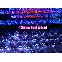 China 12mm led point lamp Fullcolor 1903/6803/WS2801/WS2802 colorful led signage outdoor decorative signs on sale