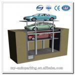 pit four post parking lift PJS(-1+1); PJS(-2+1); PJS(-3+1)