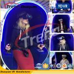 720 cadeira do simulador da realidade virtual do capacete 9D da imersão do grau para o shopping