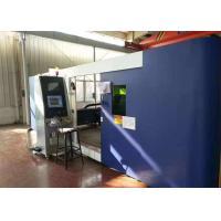 4000W Flame Metal Fiber Laser Cutting Machine CNC With High Efficiency