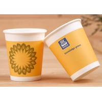 Soft Drink Single Wall Paper Cups With Lids Insulated Paper Coffee Cups