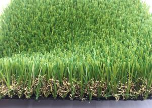 China Real Looking Luxury Artificial Grass Garden UV Resistant 40mm SGS Approved on sale