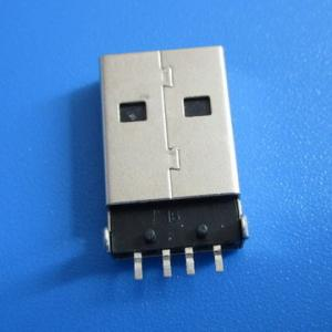 China Male USB Connector 4Pin SMT  A Type on sale