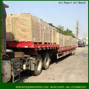 China BMPAPER stocklot kraft paper/kraft liner board suppliers/craft paper on sale