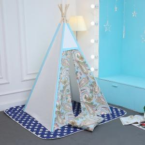 China Parent-child toy cotton canvas teepee tent on sale