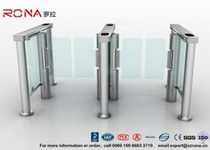 China Swing Barrier Gate Pedestrian Security Gate Visitor Entry Access Control For Office Building With CE approved on sale