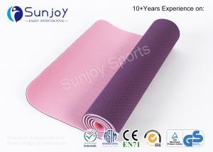 China Sunjoy Home Exercise TPE Yoga Mat Gym usage mate Workout Sports Non Slip Custom Eco Friendly Fitness Branded Yoga Matt on sale