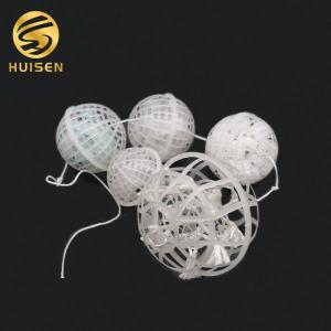China Floating Plastic Wastewater Suspended Bio Filler Ball on sale