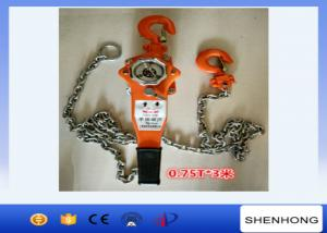 China Vital Lever Chain Block 2 Ton Manual Lever Pulley Hoist Block on sale