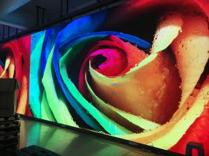 China High Definition P3.91 Advertising Indoor LED Video Wall 1000 Nit Per Square Meters on sale