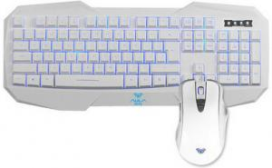 Quality Aula Wired Keyboard Mouse Combo 4000 Resolution With Multimedia Key for sale