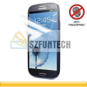 China Shenzhen Clear Screen Protector Shield for Samsung Galaxy S3 S III i9300 on sale