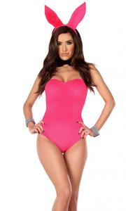 China Cotton Candy Cottontail Sexy Bunny Costume Wholesale with Size S to XXL Available on sale