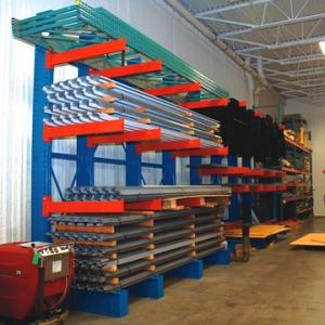 China Lumber or pipe storage cantilever rack on sale