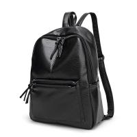 2017 Design PU Leather Women Backpacks For Teenage Girls School Bags Black Summer Vintage Backpack Mochilas Mujer