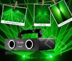 Luz laser de DJ del verde doble de la lente