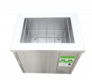 China 108L Medical Instrument Ultrasonic Cleaner Bath With Stainless Steel Basket on sale