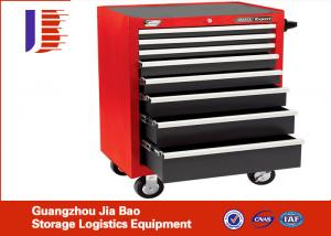 China Industrial Universal CNC Tool Storage Cabinet Chest With 4 Wheel / 5 Drawers on sale