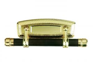 China Style D Casket Swing Bar Gold Color Coffin Ornaments Feely Sample Available on sale