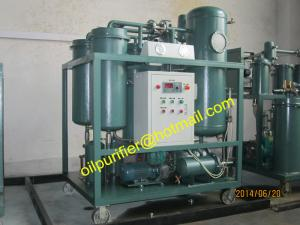 China Vacuum Turbine Oil Filtration Plant, Turbine Oil Dehydration System,Used Oil Flushing System on sale
