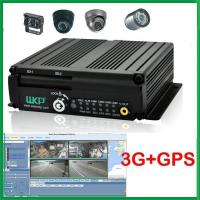 4Ch Mobile DVR Real time recorder , RS485 / RS232 Interface With PAL/NTSC Video Standards