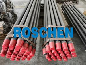 China HQ NQ PQ BQ Wireline Drill Rods Quenching Heat Treatment High Stregnth Drill Rod For Damond Core Drilling on sale