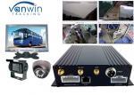 3G realtime monitoring car DVR/MDVR/mobile DVR support oil sensor passenger counting