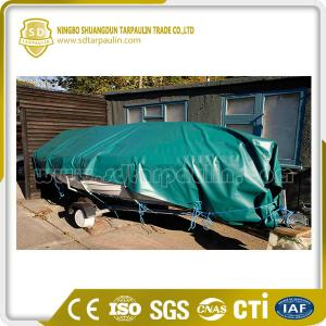 China Economical Waterproof Poly Boat Cover Tarp on sale