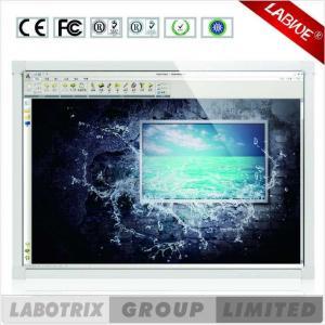 China Finger que escribe Whiteboard interactivo elegante infrarrojo para la sala de clase y la sala de reunión on sale