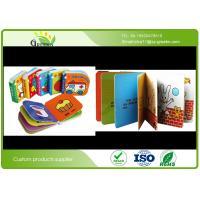 Color Printing Childrens Board Books , Film Lamination Popular Toddler Books