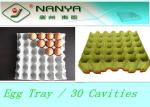 China Biodegradable Pulp Moulded Products Disposable Egg Tray with 30 Cavities wholesale