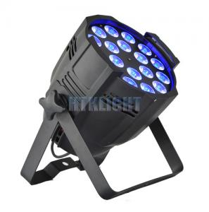 China 2700K 18 * 18Watt LED Stage Wash Lights RGBWA + UV For Concert / Party on sale