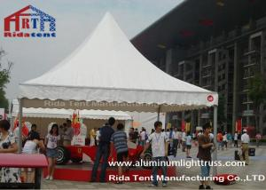 China PVC White Pagoda Party Tent Garden Outdoor Event TentAnti - Mildew Fabric on sale