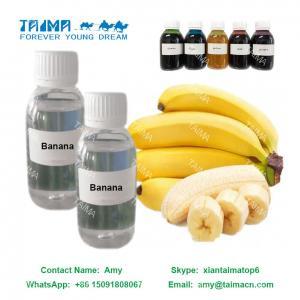 China Vape Flavour Aroma E-Cigarette Liquid Flavor Banana Flavor for nicotine E Liquid on sale