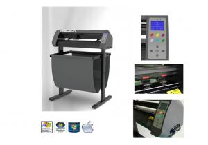China Dasheng 24'' cutting plotter with exact contour cut, flexi sign softare on sale