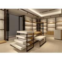 Luxury Handbag Display Cabinet / Retail Shop Fixtures MDF Plus Veneer Material