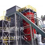 Vertical Coal / Gas Fuel Thermal Oil Fired Boiler 180 - 14500kw For Industrial