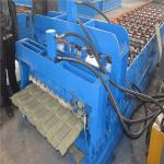 China Trustworthy brand CE ISO certification glazed iron roofing sheet making machine wholesale