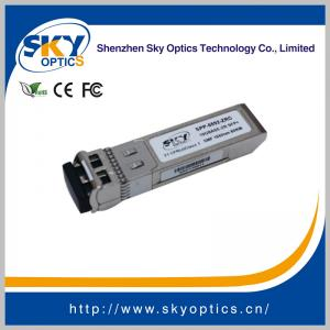 China 10Gbps zr sfp+ compatible sfp 1550nm 80km single mode transceivers on sale