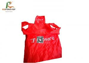 China Recyclable Polyester Folding Shopping Bags , Custom Printed Tote Bags on sale