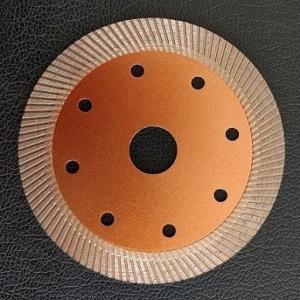China Small Hole 4  /  5 Inch Diamond Masonry Blade For Circular Saw Marble Super Thin on sale