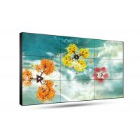 4K Screen Optional Multiple Tv Wall , Supermarket Thin Bezel Tv For Video Wall