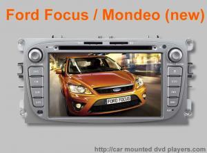 China Ford Focus/joueur de Ford-Mondeo Bluetooth DVD GPS avec le système stéréo d'autoradio de navigation on sale