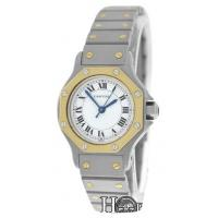 Buy Newest Cartier Ladies Santos Octagon 18K Gold & Stainless Steel Watches Sale
