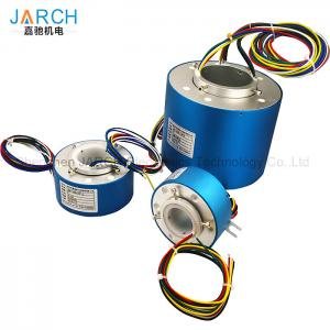 China Hollow Shaft Through Bore Electrical Slip Ring Long - Life For Robotic Manufacturing Equipment supplier