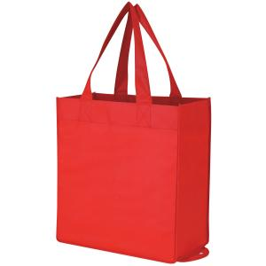 China Eco-friendly Reusable Nonwoven Fabric can be printed bags with handles on sale