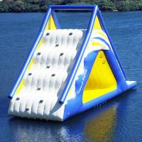 Floating Water Park Inflatable Water Sports Whoosh Slide , Gigantic Inflatable Water Play Station