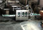 Glass Bottle Flavor Water Filling Machine , 3 In 1 Juice Production Line